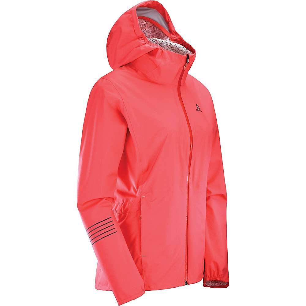 サロモン Salomon レディース アウター レインコート【Lightning Waterproof Jacket】Dubarry