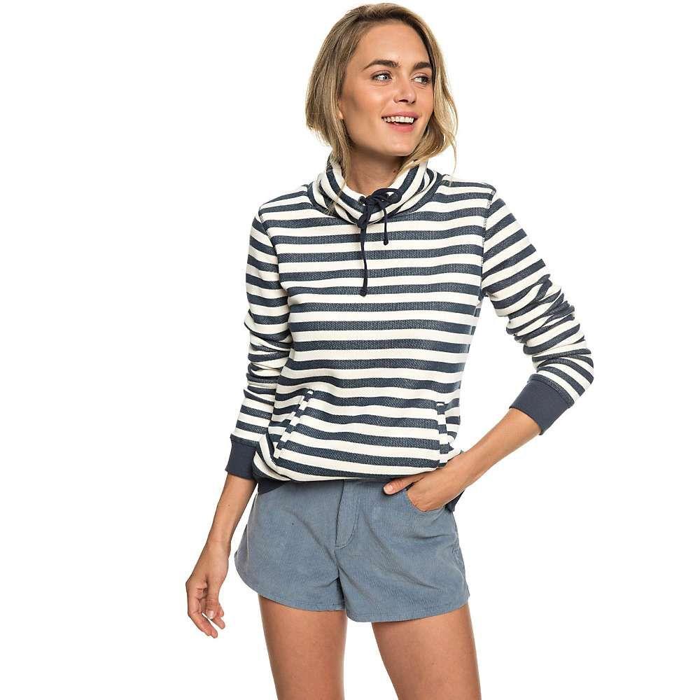 ロキシー Roxy レディース ハイキング・登山 トップス【Halfway Home Pullover】Dress Blue 2X2 Stripe