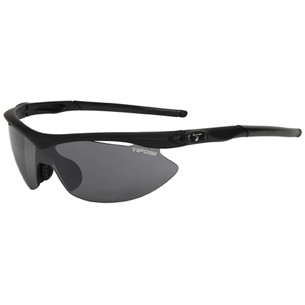 ティフォージ Tifosi Optics レディース メガネ・サングラス【Tifosi Slip Sunglasses - Asian Fit】Matte Black/Smoke/AC Red/Clear