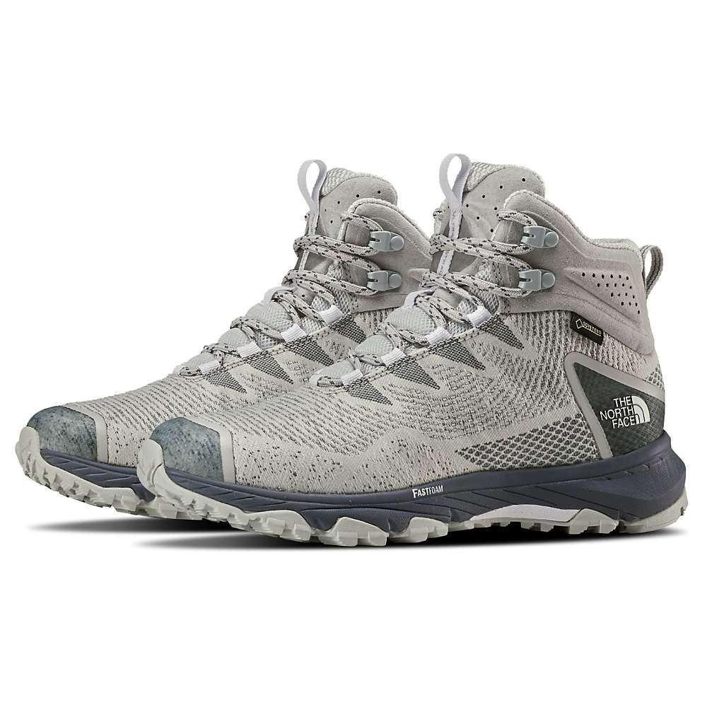 ザ ノースフェイス The North Face レディース ハイキング・登山 シューズ・靴【Ultra Fastpack III Mid GTX Shoe】Tin Grey/Grisaille Grey
