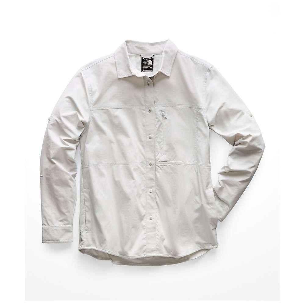 ザ ノースフェイス The North Face レディース ハイキング・登山 トップス【Boreaz LS Roll-Up Shirt】Tin Grey