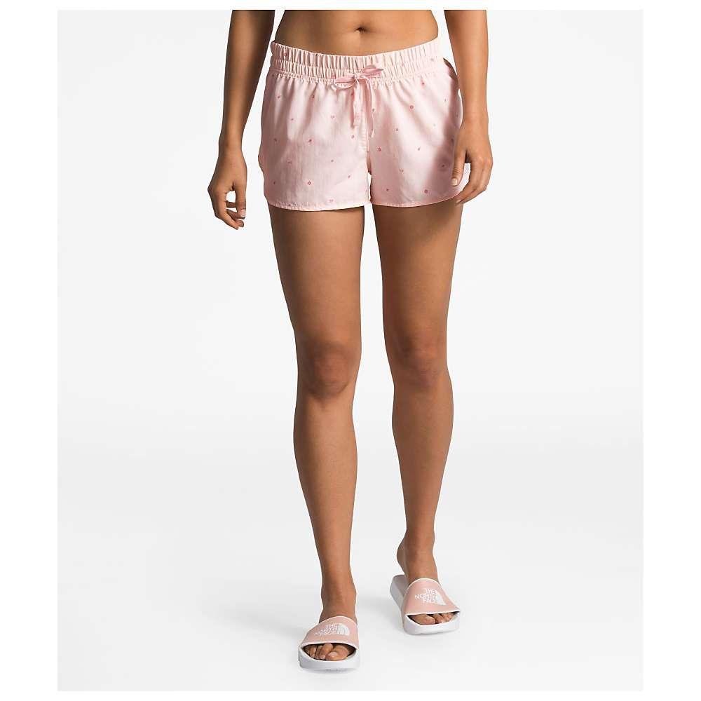 ザ ノースフェイス The North Face レディース ハイキング・登山 ボトムス・パンツ【Class V Mini 2.5 Inch Short】Pink Salt Outdoor Print