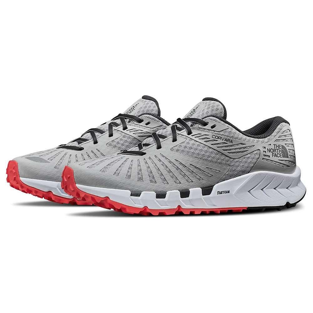 ザ ノースフェイス The North Face レディース ランニング・ウォーキング シューズ・靴【Corvara Shoe】Micro Chip Grey/Ebony Grey