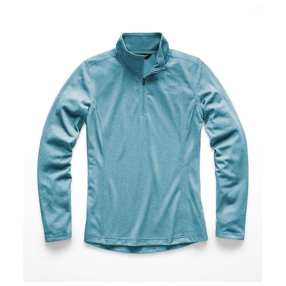 ザ ノースフェイス The North Face レディース ハイキング・登山 トップス【Tech Mezzaluna 1/4 Zip Top】Storm Blue Heather