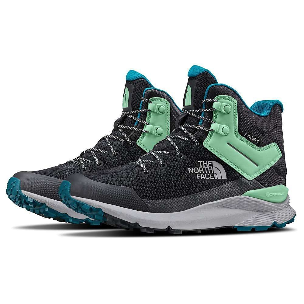 ザ ノースフェイス The North Face レディース ハイキング・登山 シューズ・靴【Vals Mid WaterProof Shoe】Ebony Grey/Micro Chip Grey