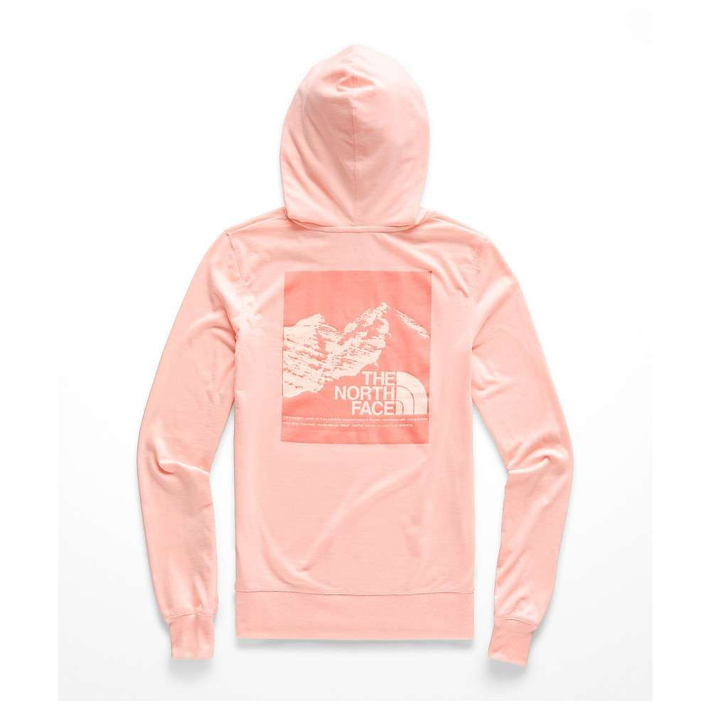 ザ ノースフェイス The North Face レディース ハイキング・登山 トップス【Vintage Pyrenees Lightweight Tri-Blend Pullover Hoodie】Pink Salt Heather