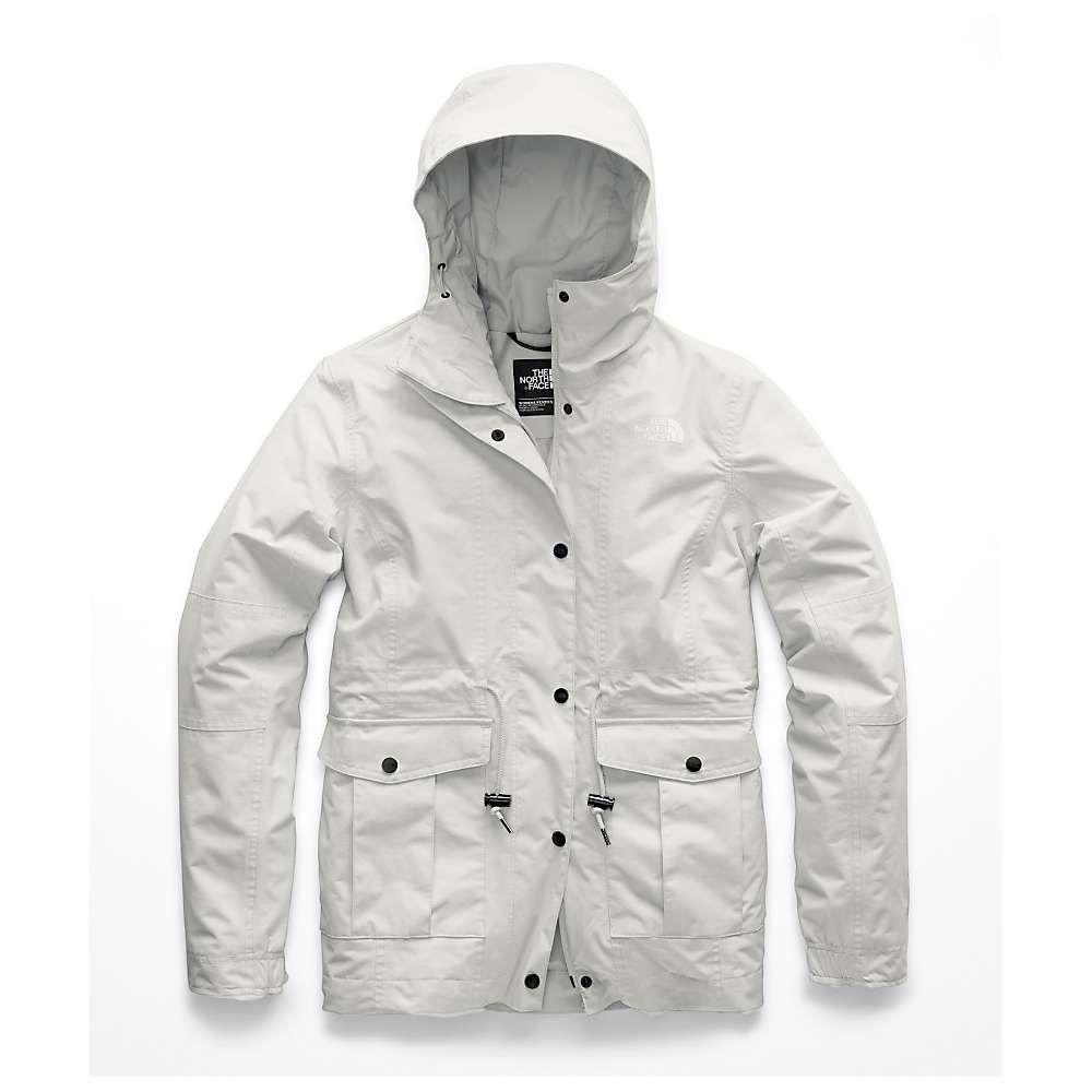 ザ ノースフェイス The North Face レディース アウター レインコート【Zoomie Jacket】Tin Grey