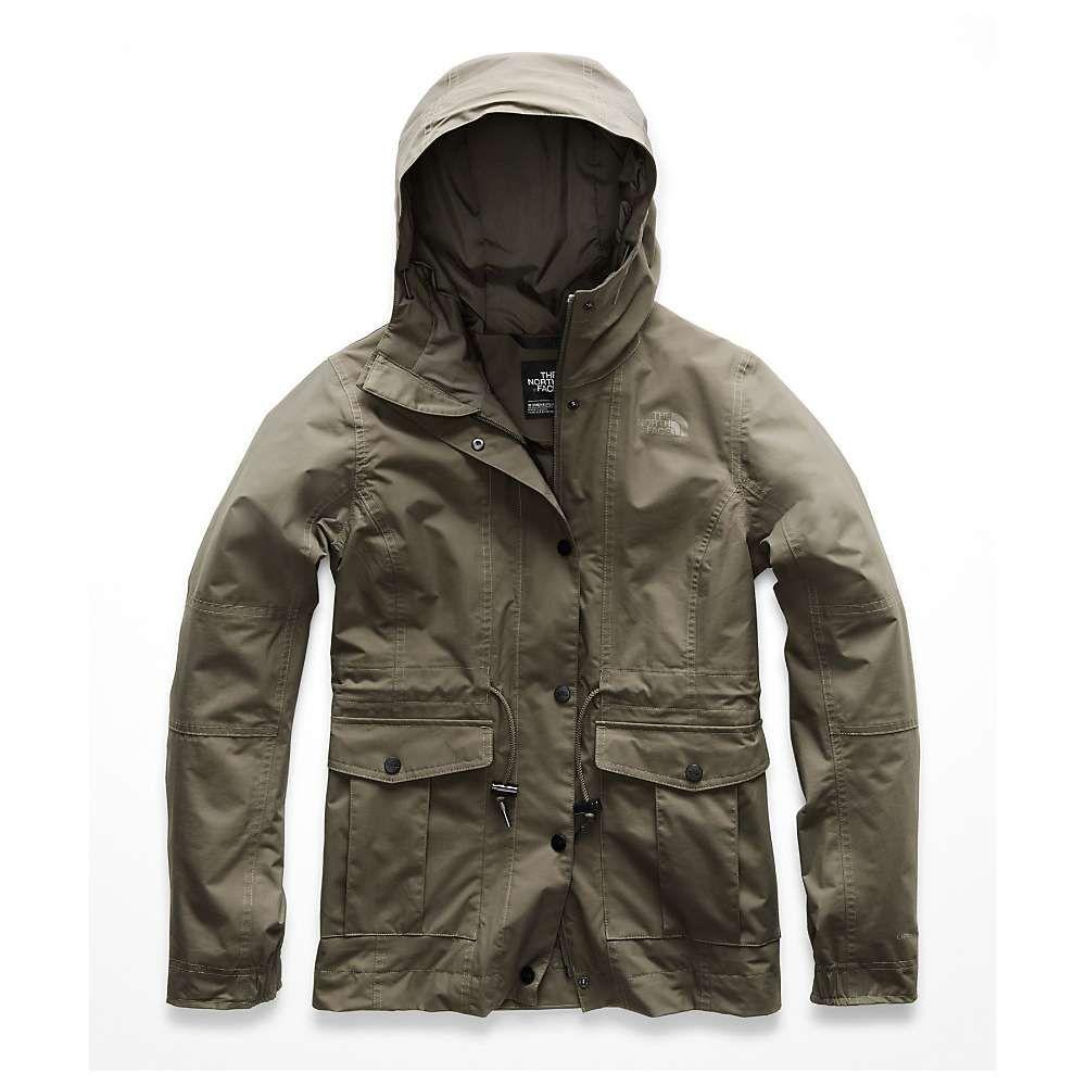 ザ ノースフェイス The North Face レディース アウター レインコート【Zoomie Jacket】New Taupe Green 1L