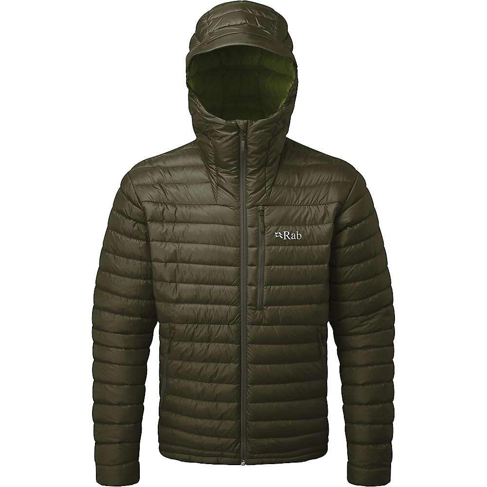 ラブ Rab メンズ ハイキング・登山 アウター【Microlight Alpine Jacket】Army / Cactus