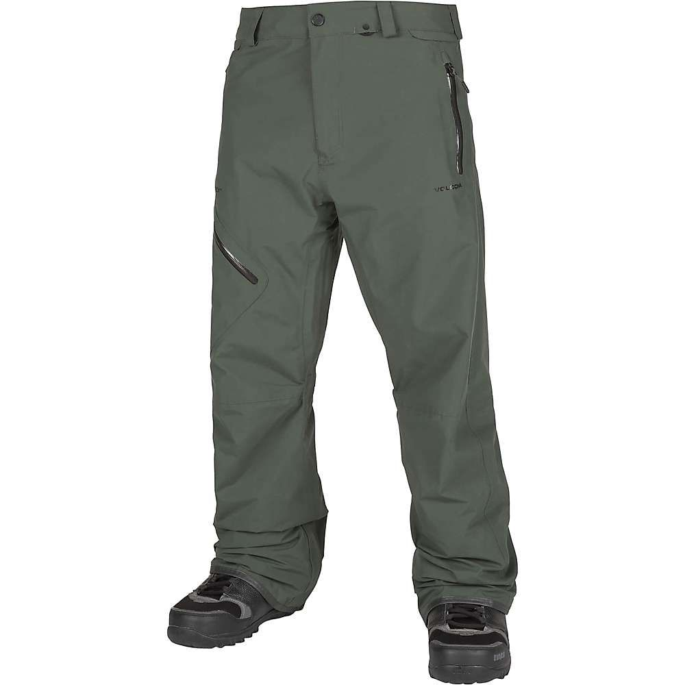 ボルコム Volcom メンズ スキー・スノーボード ボトムス・パンツ【L Gore-Tex Pant】Black Green