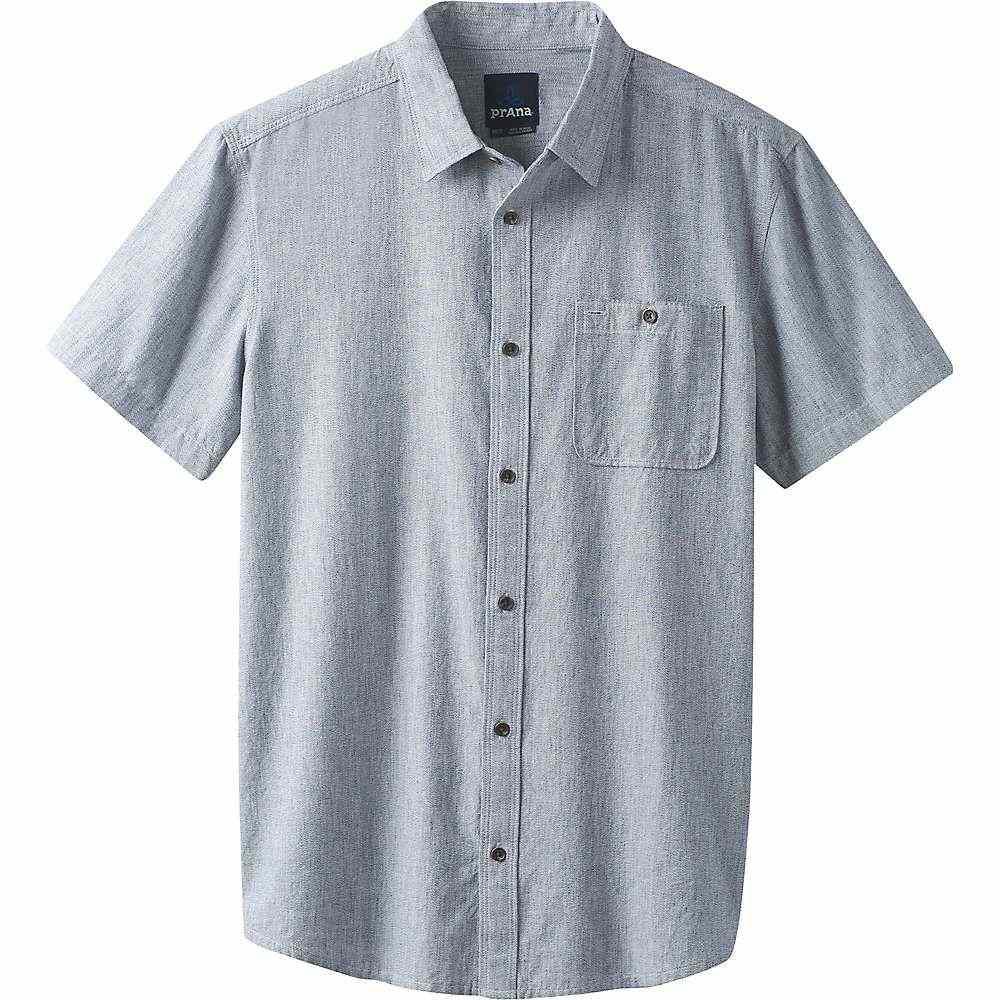 プラーナ Prana メンズ トップス 半袖シャツ【Jaffra SS Shirt】Nautical