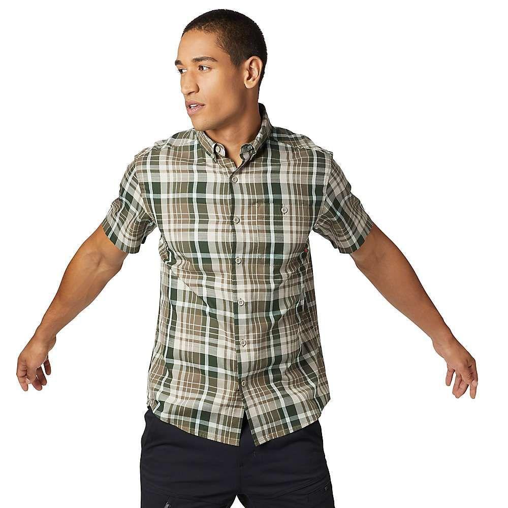 マウンテンハードウェア Mountain Hardwear メンズ トップス 半袖シャツ【Minorca SS Shirt】Darklands