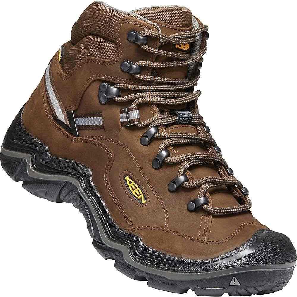 キーン Keen メンズ ハイキング・登山 シューズ・靴【Durand II Mid Waterproof Boot】Cascade Brown / Gargoyle