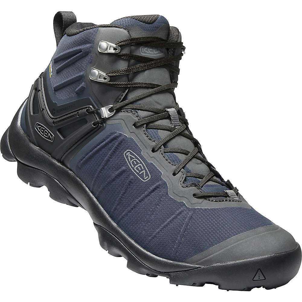 キーン Keen メンズ ハイキング・登山 シューズ・靴【Venture Mid Waterproof Shoe】Blue Nights / Raven