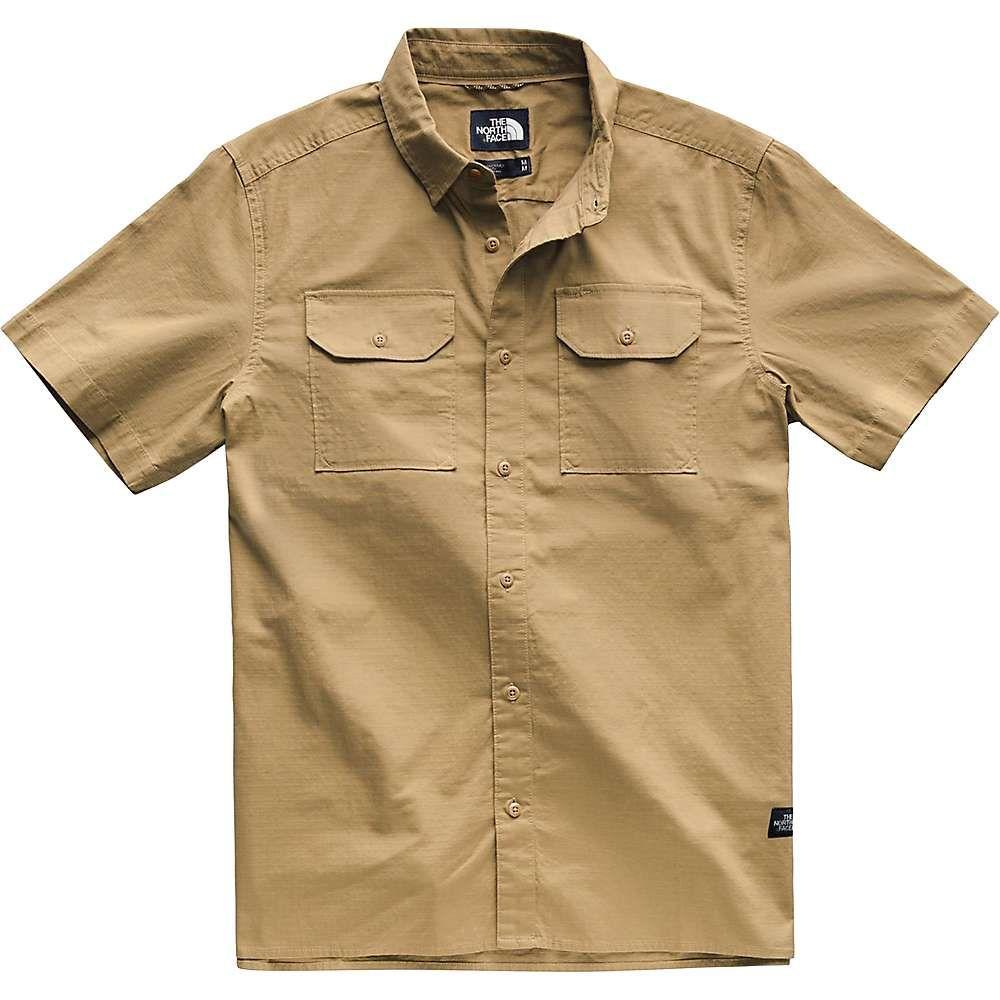 ザ ノースフェイス The North Face メンズ トップス 半袖シャツ【Battlement SS Shirt】Kelp Tan