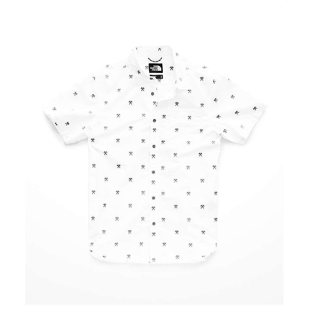 ザ ノースフェイス The North Face メンズ トップス 半袖シャツ【Baytrail Jacq SS Shirt】TNF White Hatchet Jacquard
