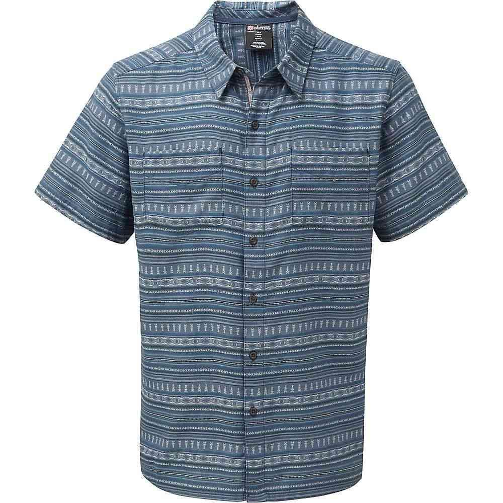 シェルパ Sherpa メンズ トップス 半袖シャツ【Bhaku Shirt】Neelo Blue