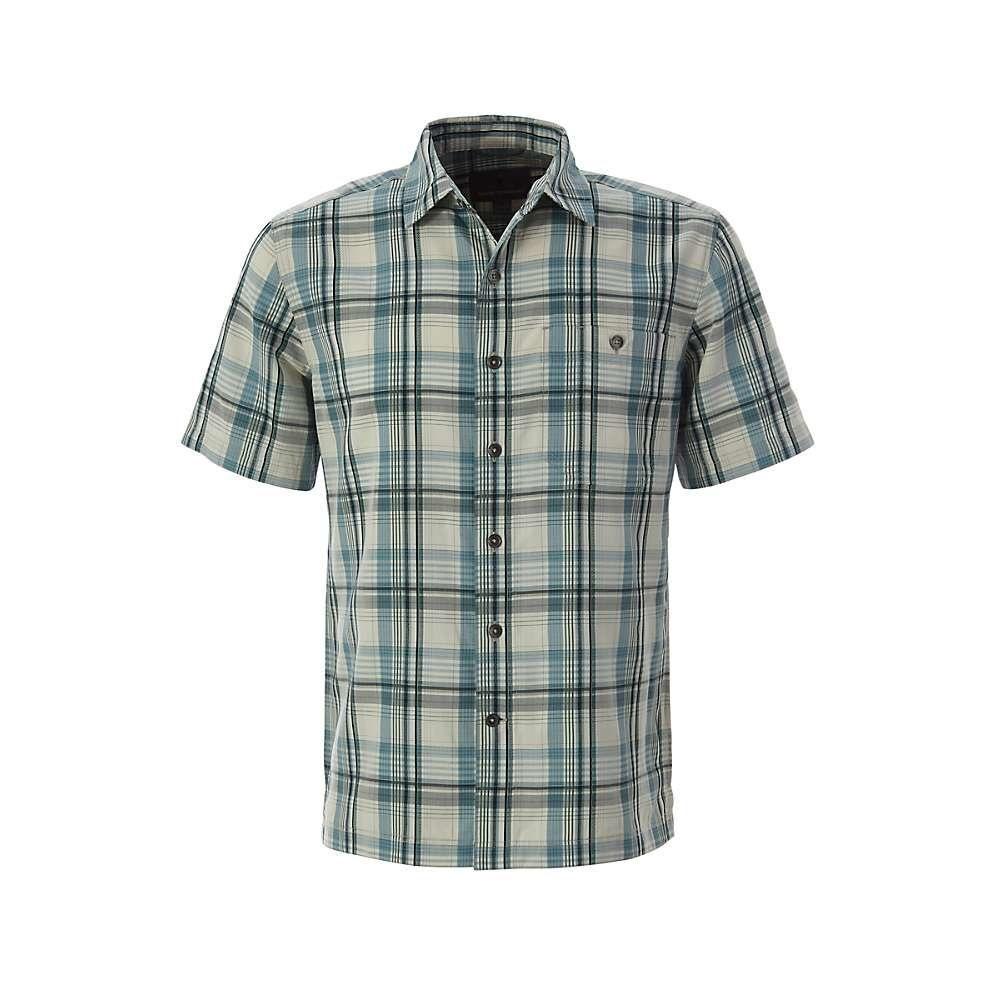 ロイヤルロビンズ Royal Robbins メンズ トップス 半袖シャツ【Mojave Dobby Plaid SS Shirt】Creme