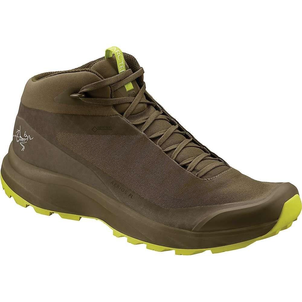 アークテリクス Arcteryx メンズ ハイキング・登山 シューズ・靴【Aerios FL Mid GTX Shoe】Taan Forest / Lampyres