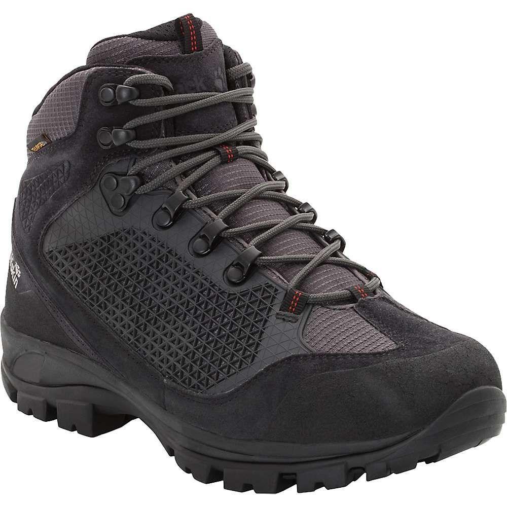 ジャックウルフスキン Jack Wolfskin メンズ ハイキング・登山 シューズ・靴【All Terrain Pro Texapore Mid Boot】Dark Steel
