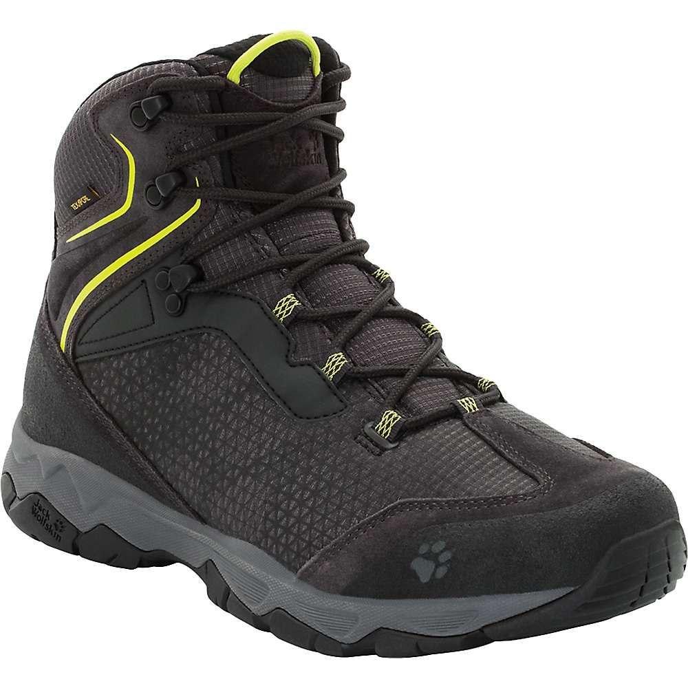 ジャックウルフスキン Jack Wolfskin メンズ ハイキング・登山 シューズ・靴【Rock Hunter Texapore Mid Boot】Lime Green