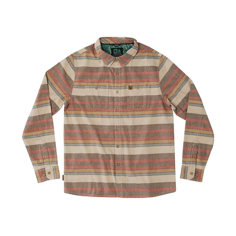 ヒッピーツリー HippyTree メンズ トップス 半袖シャツ【Salton Flannel Shirt】TAN