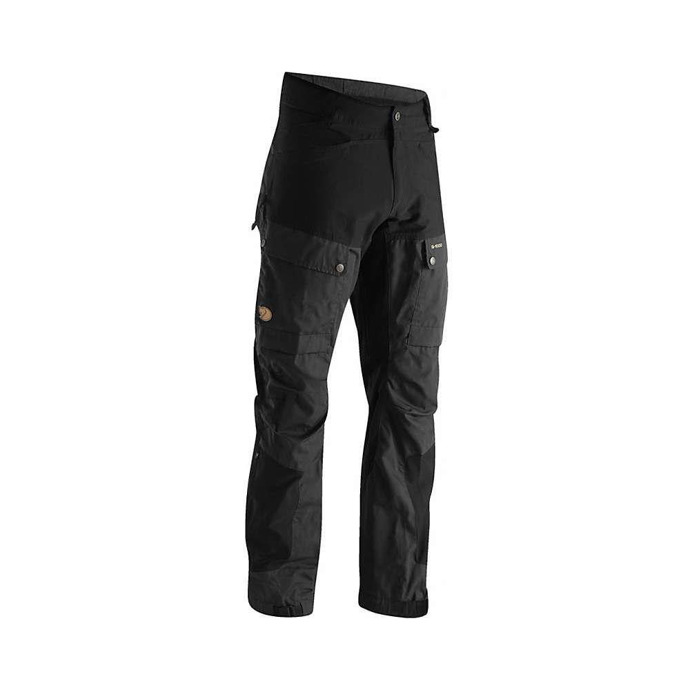 フェールラーベン Fjallraven メンズ ハイキング・登山 ボトムス・パンツ【Keb Trouser】Black / Black
