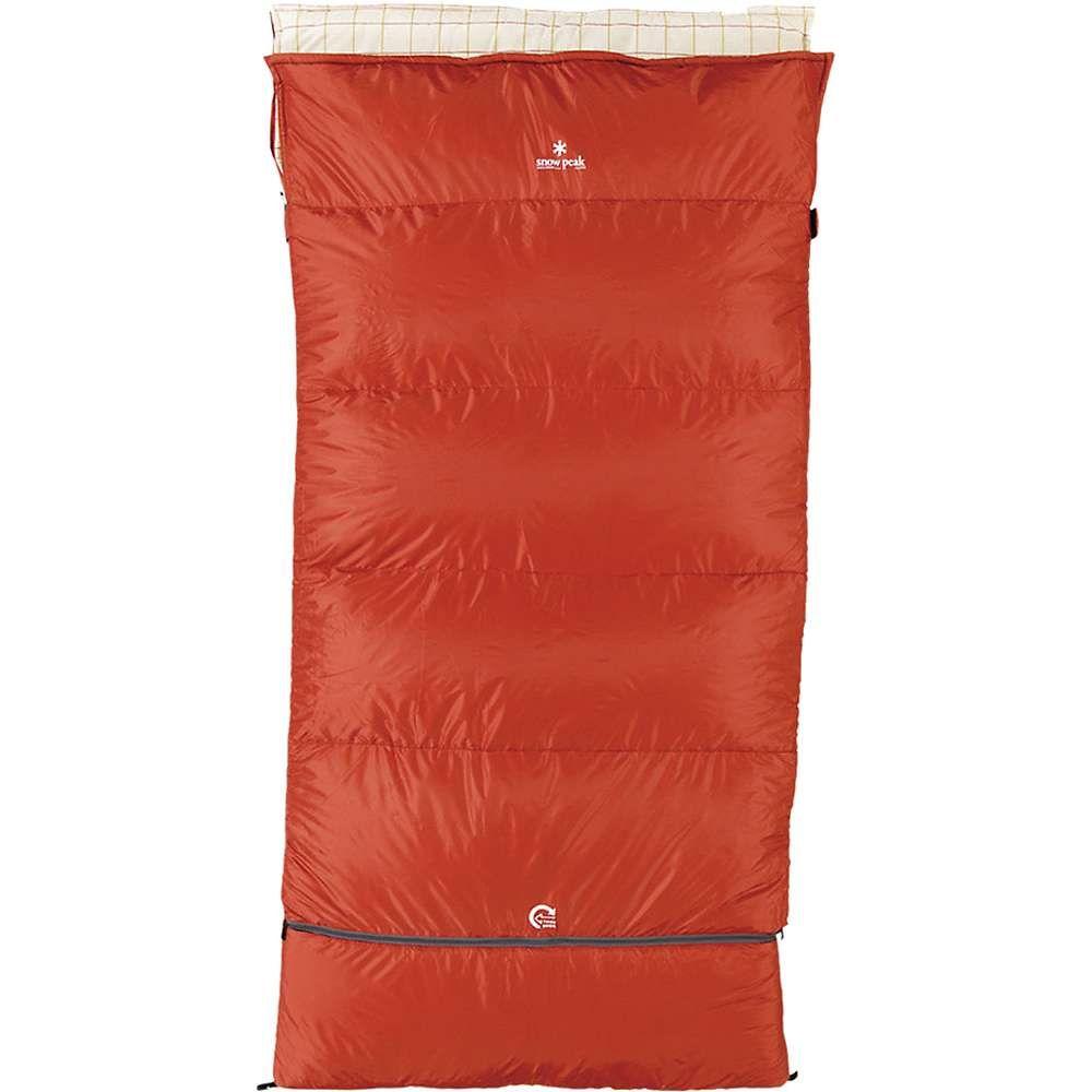 スノーピーク Snow Peak ユニセックス ハイキング・登山【Ofuton Sleeping Bag】Red