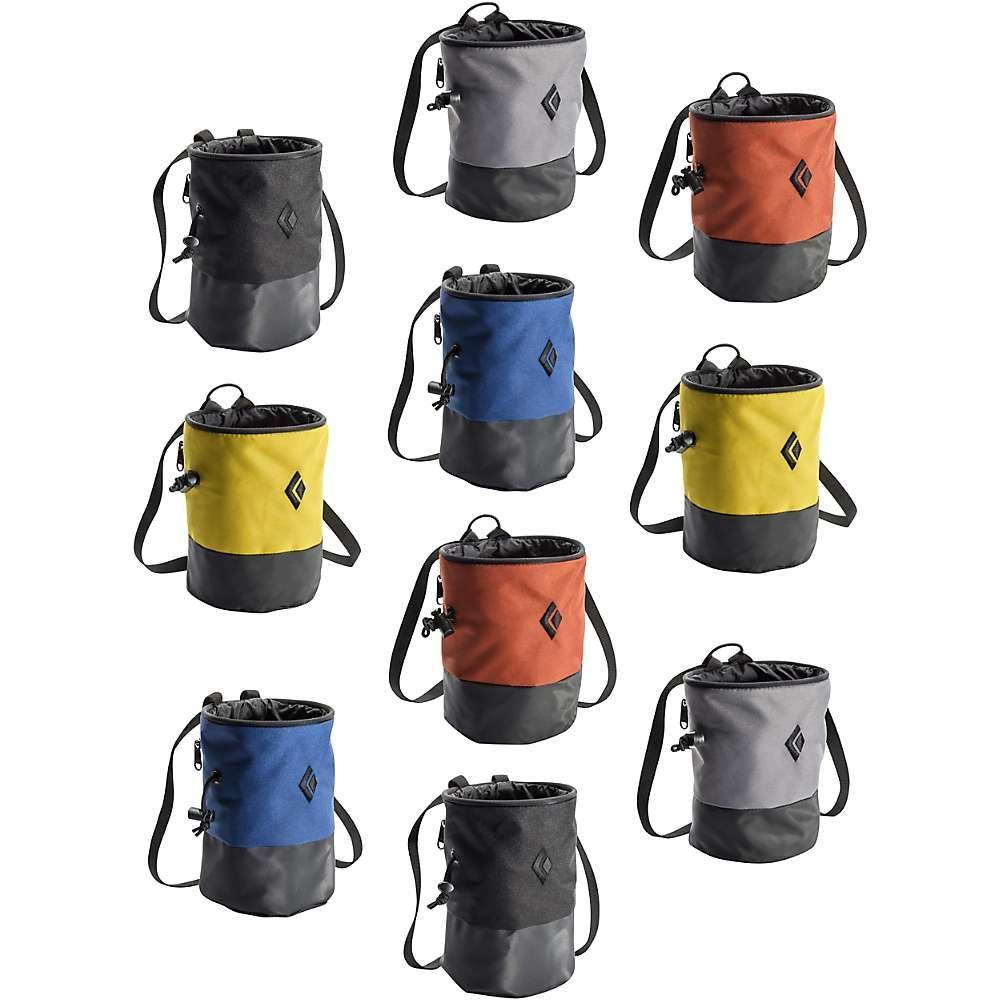 ブラックダイヤモンド Black Diamond ユニセックス クライミング【Mojo Zip 10 Pack Chalk Bag】