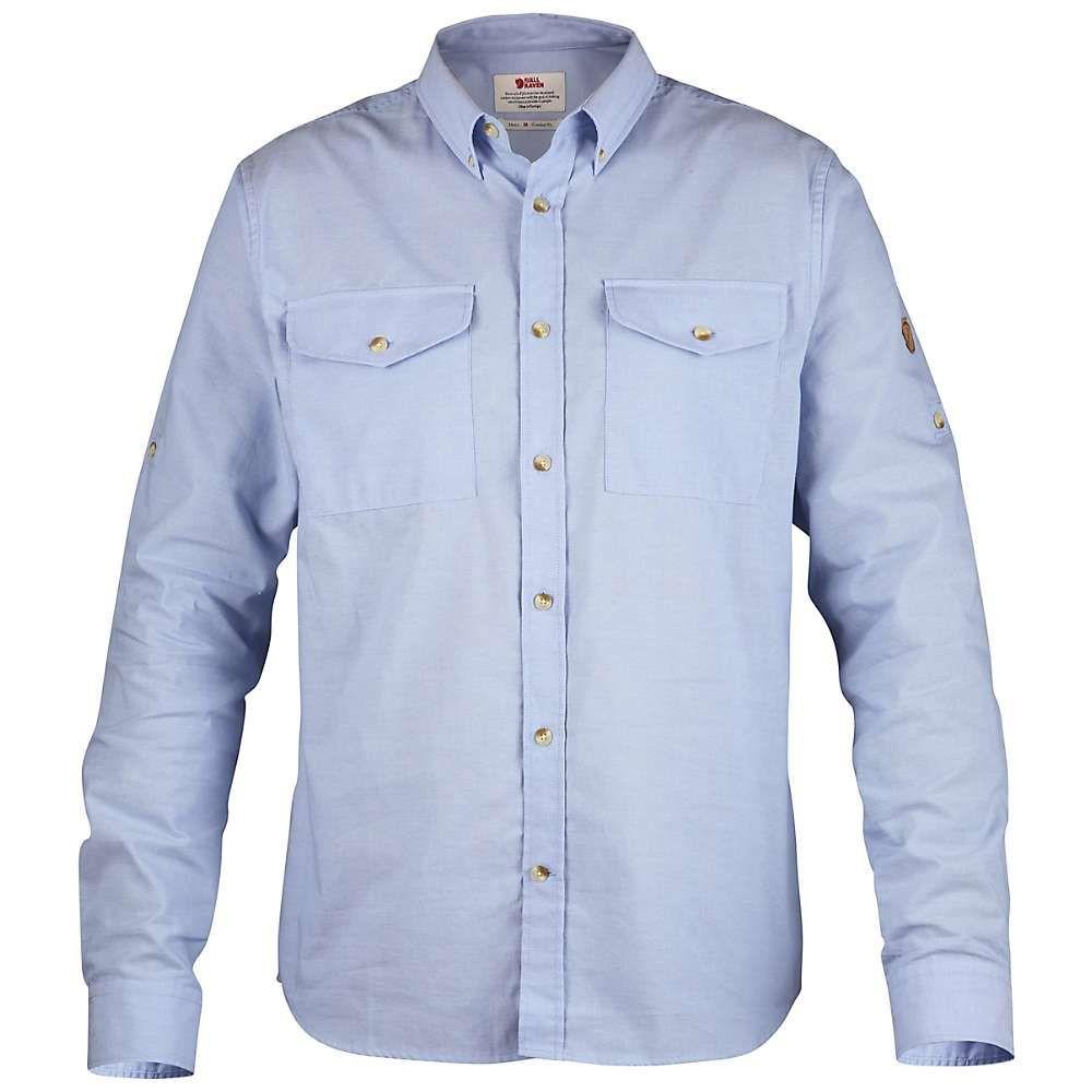 フェールラーベン Fjallraven メンズ ハイキング・登山 トップス【Ovik Chambray Shirt】Blue Ridge