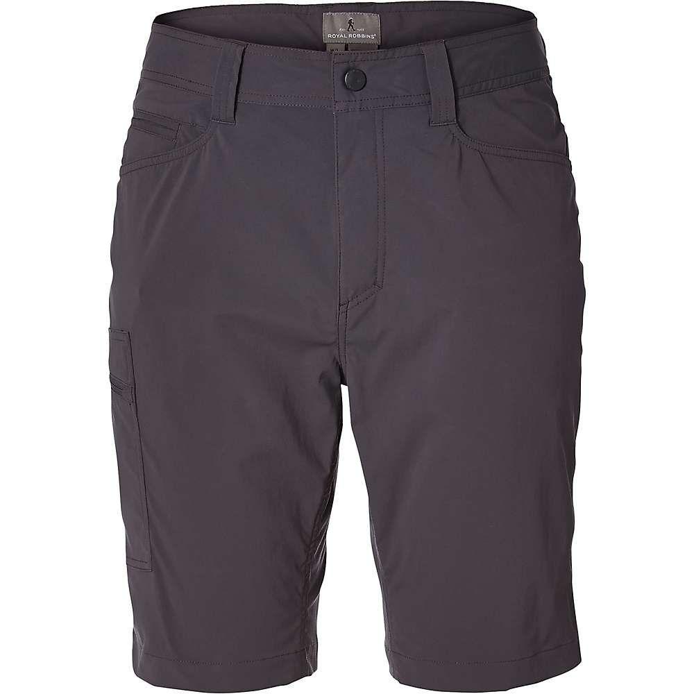 ロイヤルロビンズ Royal Robbins メンズ ハイキング・登山 ボトムス・パンツ【Active Traveler Stretch Short】Asphalt
