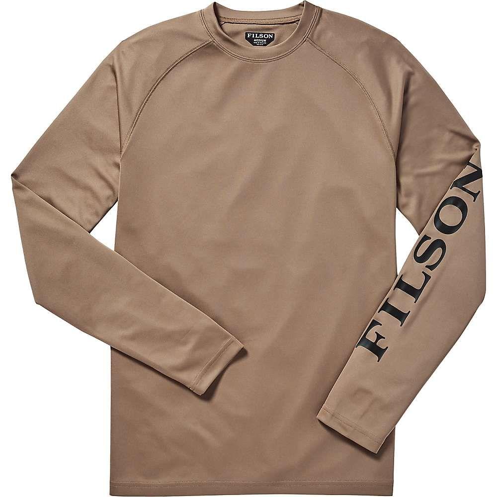 フィルソン Filson メンズ ハイキング・登山 トップス【Barrier LS T-Shirt】Warm Khaki