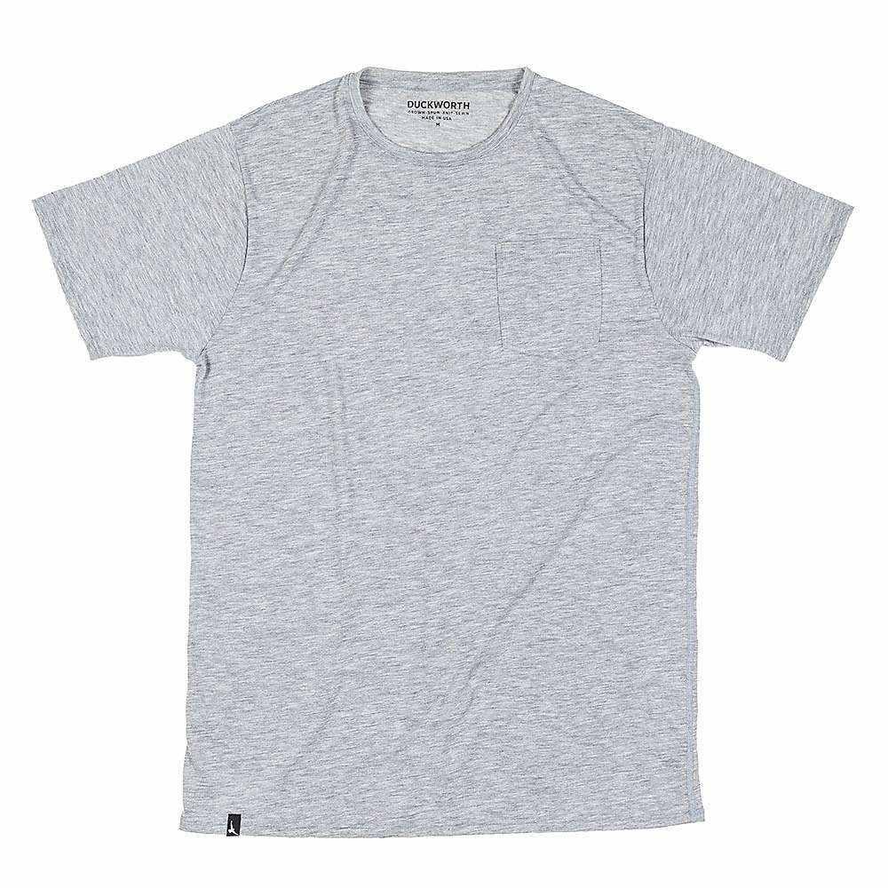 ダックワース Duckworth メンズ ハイキング・登山 トップス【Vapor Pocket Tee】Standard Gray