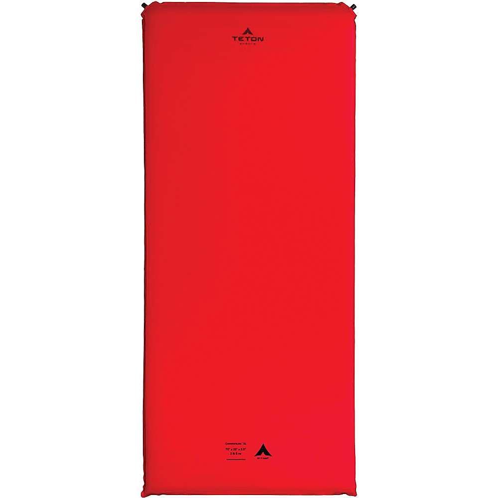 ティトンスポーツ Teton Sports ユニセックス ハイキング・登山【ComfortLite XL Self Inflating Pad】Red