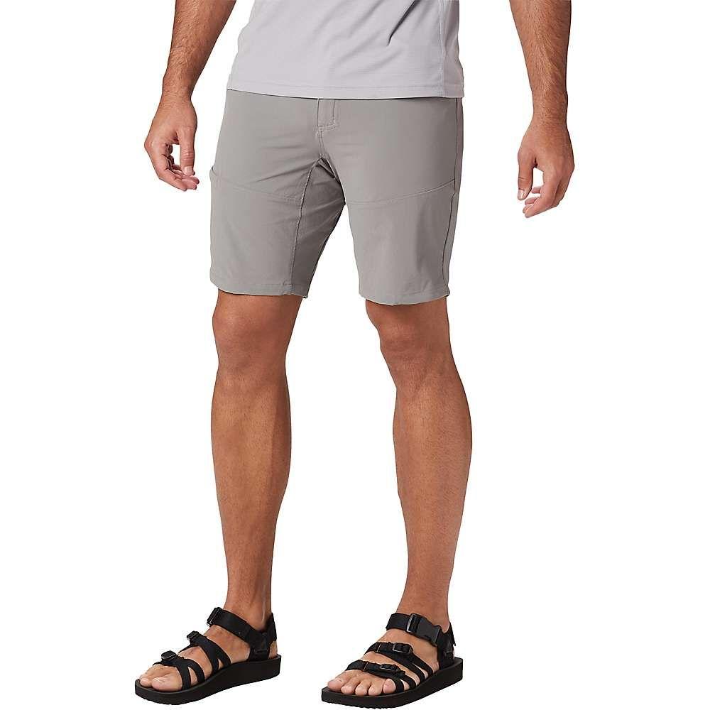 マウンテンハードウェア Mountain Hardwear メンズ ハイキング・登山 ボトムス・パンツ【Logan Canyon 9 Inch Short】Manta Grey