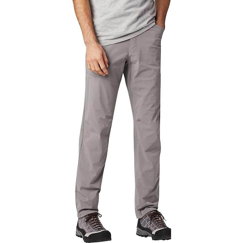 マウンテンハードウェア Mountain Hardwear メンズ ハイキング・登山 ボトムス・パンツ【Logan Canyon Pant】Manta Grey