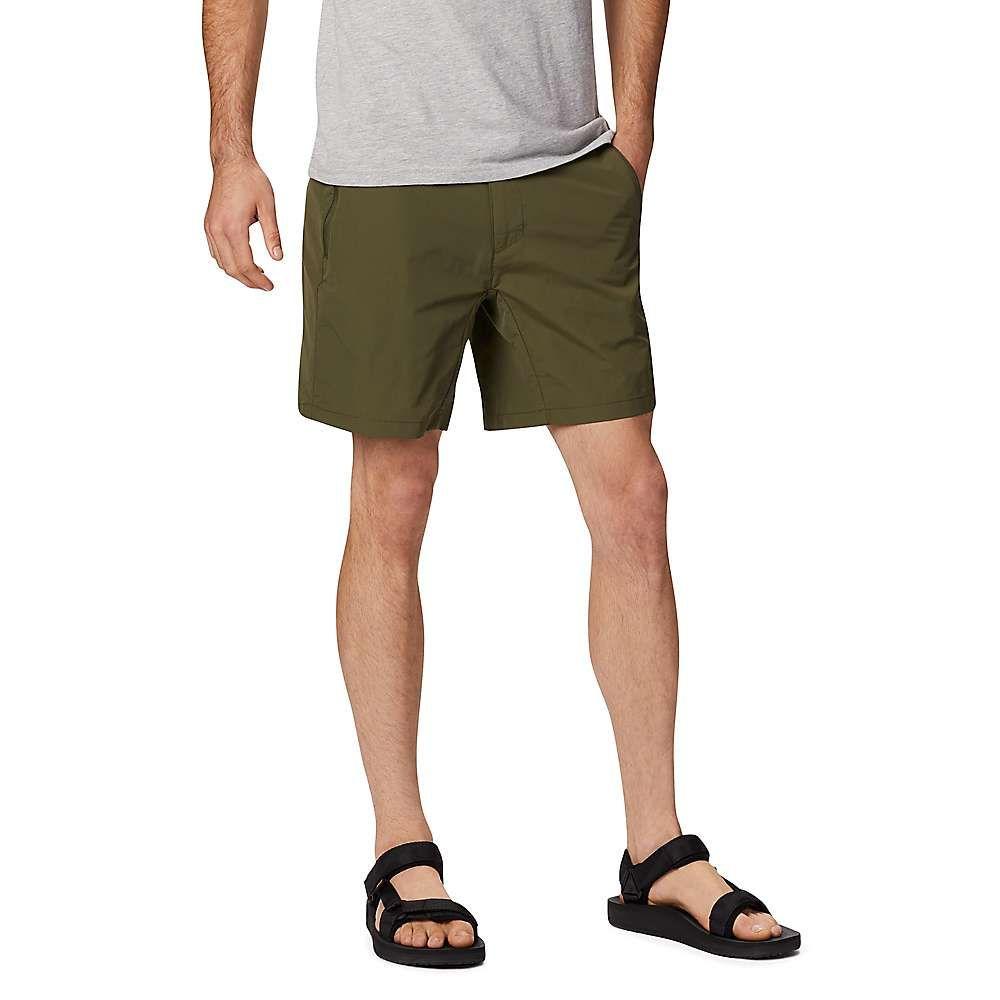 マウンテンハードウェア Mountain Hardwear メンズ ハイキング・登山 ボトムス・パンツ【Railay Redpoint 5 Inch Short】Dark Army
