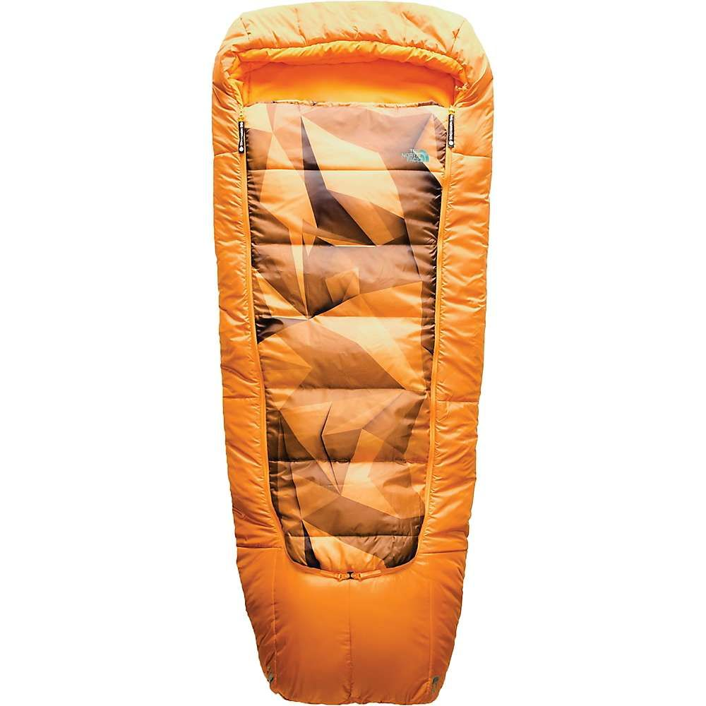 ザ ノースフェイス The North Face ユニセックス ハイキング・登山【Homestead Bed Sleeping Bag】Zinnia Orange Low Poly Print / Citrine Yellow
