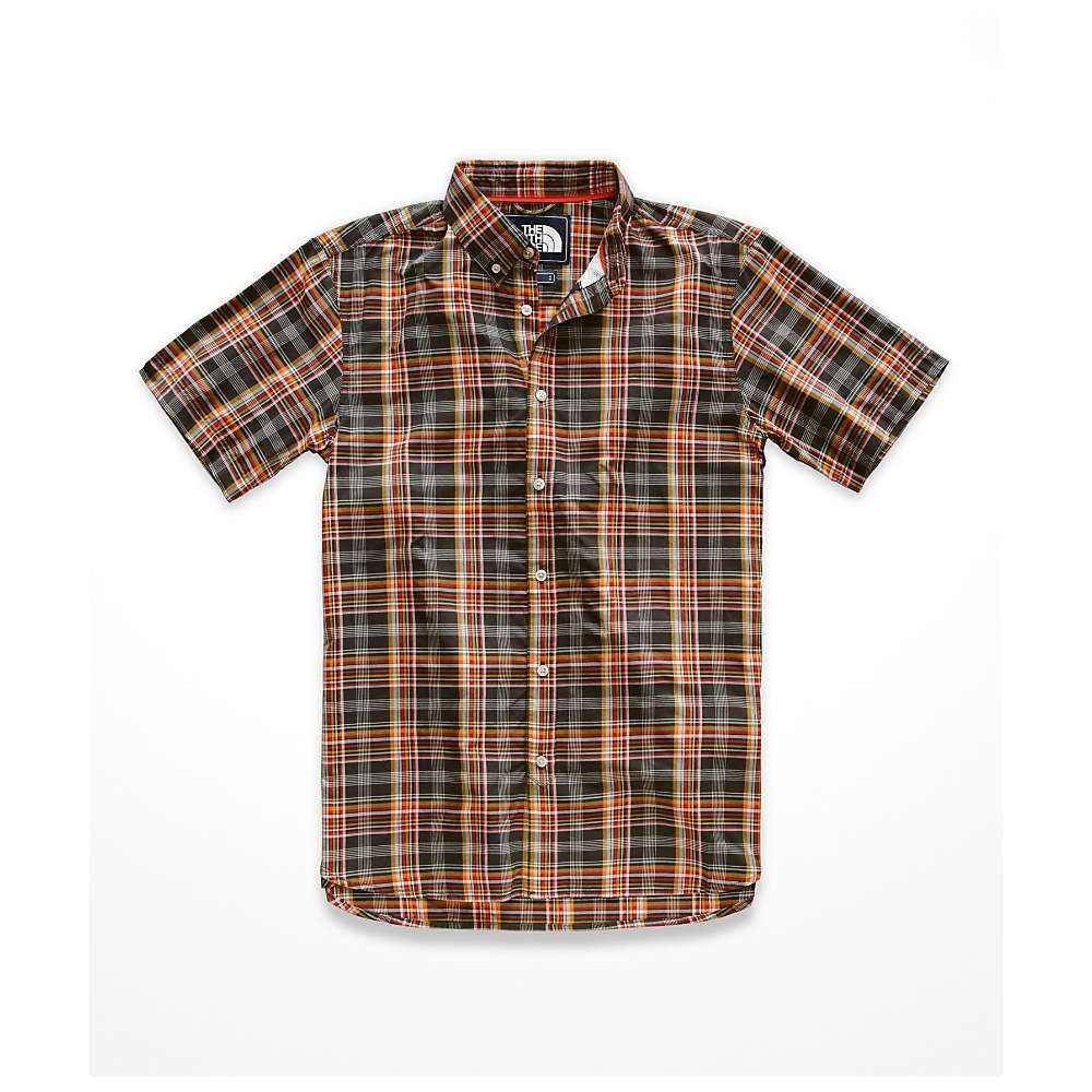 ザ ノースフェイス The North Face メンズ ハイキング・登山 トップス【Monanock SS Shirt】Weathered Black Brutus Plaid