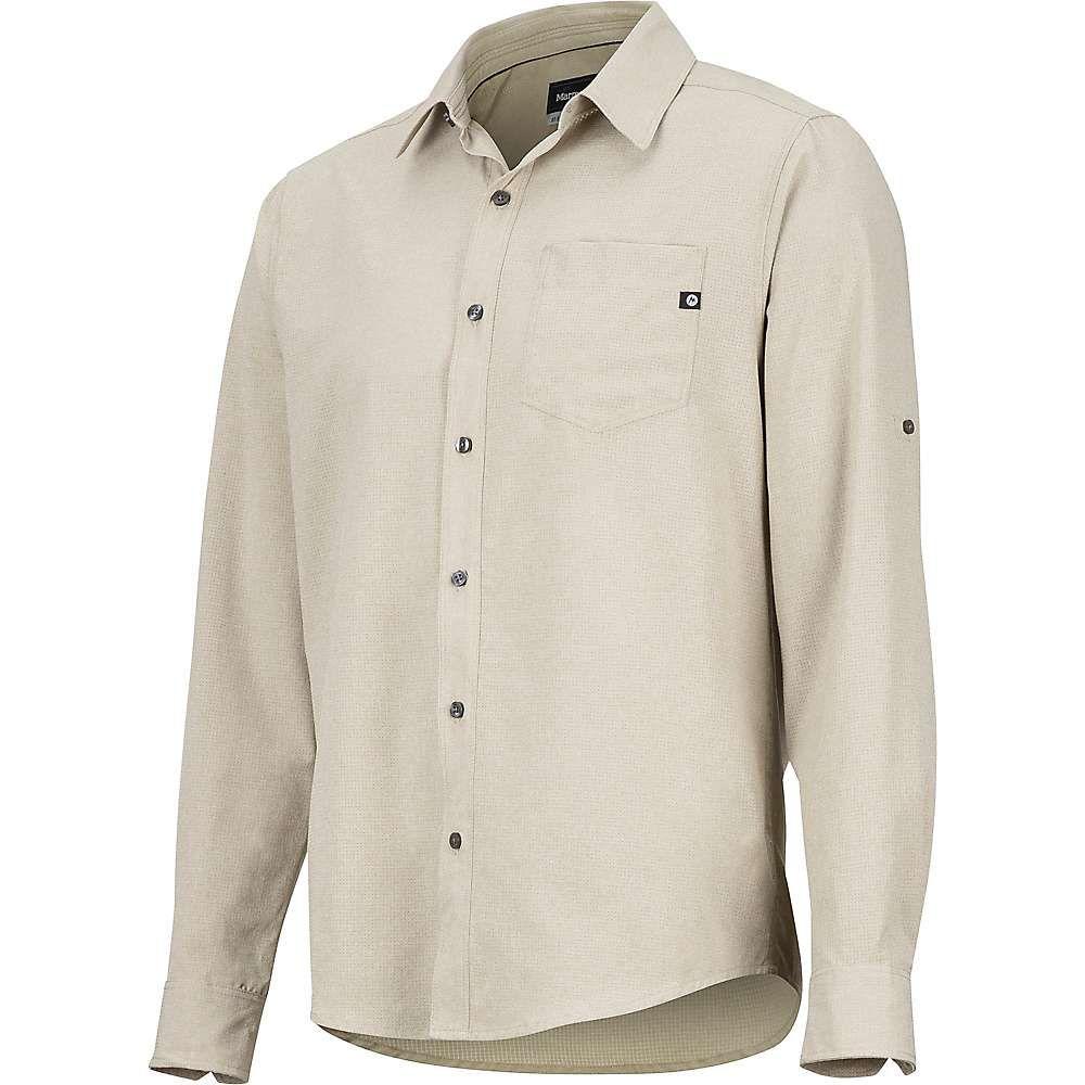 マーモット Marmot メンズ ハイキング・登山 トップス【Aerobora LS Shirt】Light Khaki