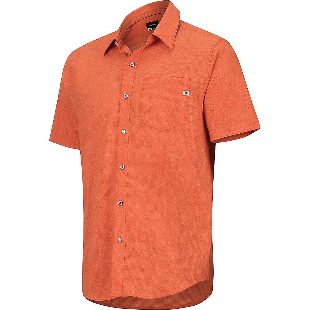 マーモット Marmot メンズ ハイキング・登山 トップス【Aerobora SS Shirt】Orange Haze