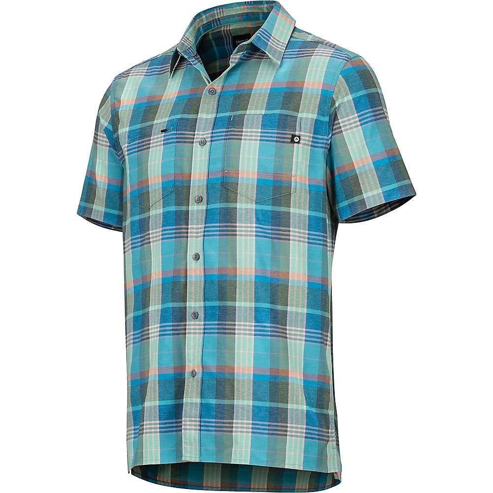 マーモット Marmot メンズ ハイキング・登山 トップス【Innesdale SS Shirt】Pond Green