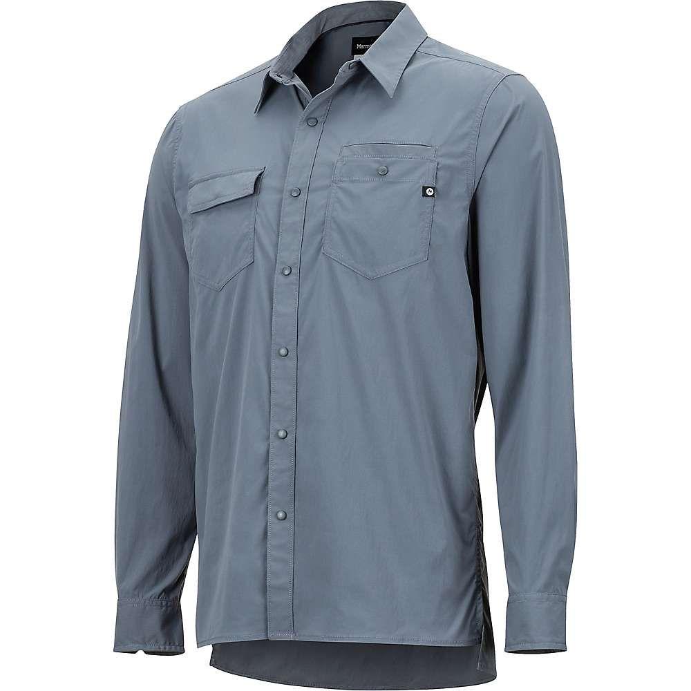 マーモット Marmot メンズ ハイキング・登山 トップス【Kapalino LS Shirt】Steel Onyx