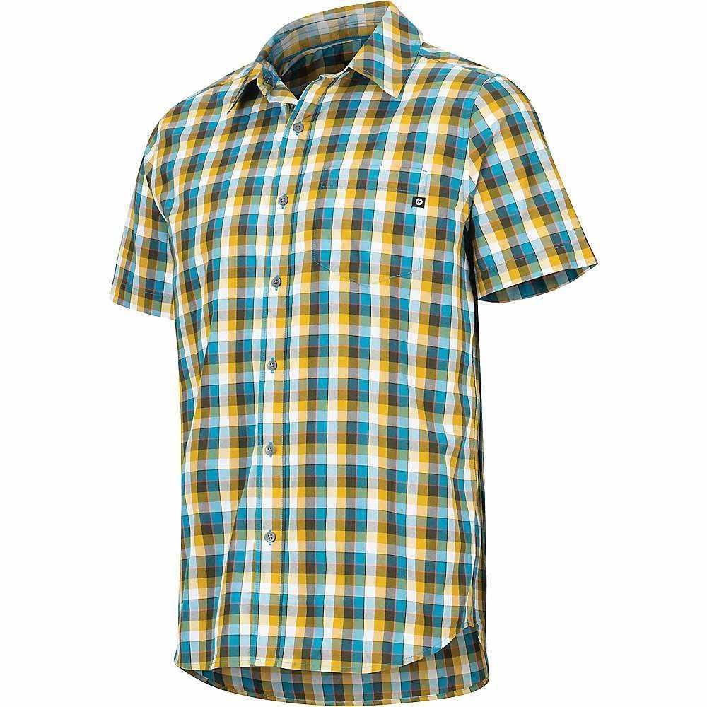 マーモット Marmot メンズ ハイキング・登山 トップス【Kingswest SS Shirt】Turkish Tile