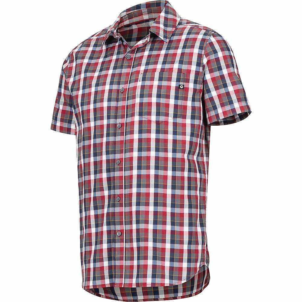 マーモット Marmot メンズ ハイキング・登山 トップス【Kingswest SS Shirt】Sienna Red
