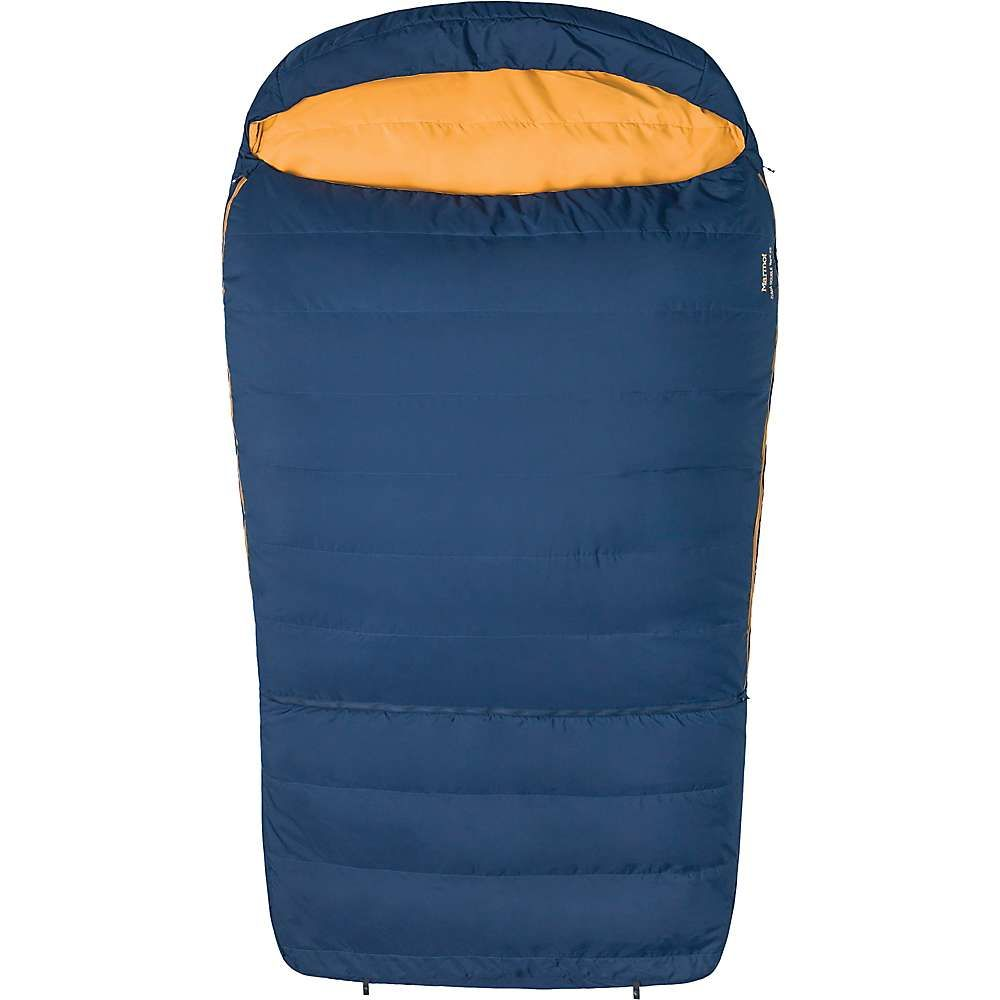 マーモット Marmot メンズ ハイキング・登山【Zuma Double Wide 35 Sleeping Bag】Total Eclipse / Buckthorn Brown