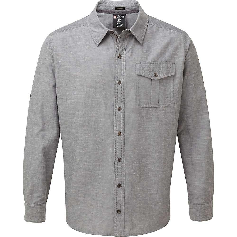 シェルパ Sherpa メンズ ハイキング・登山 トップス【Lokta LS Shirt】Kharani Grey