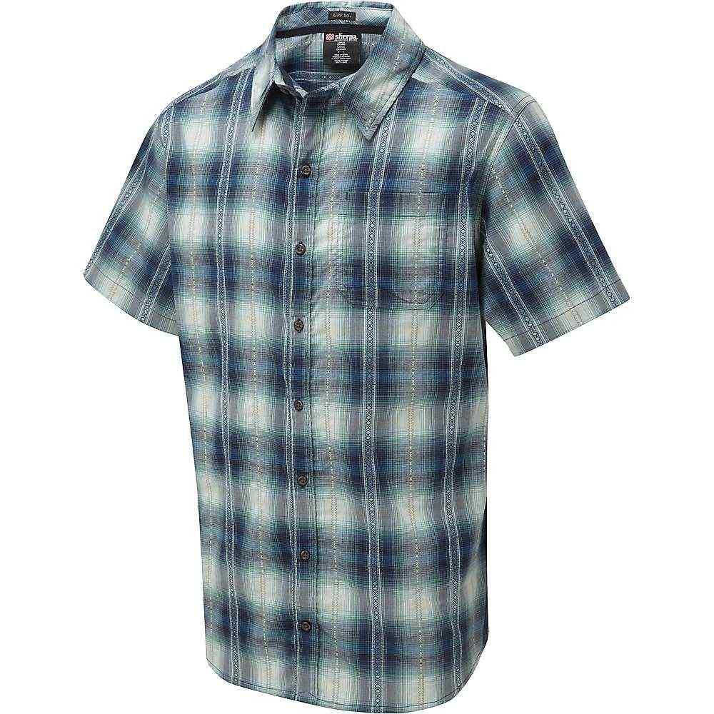 シェルパ Sherpa メンズ ハイキング・登山 トップス【Manang SS Shirt】Raja Blue