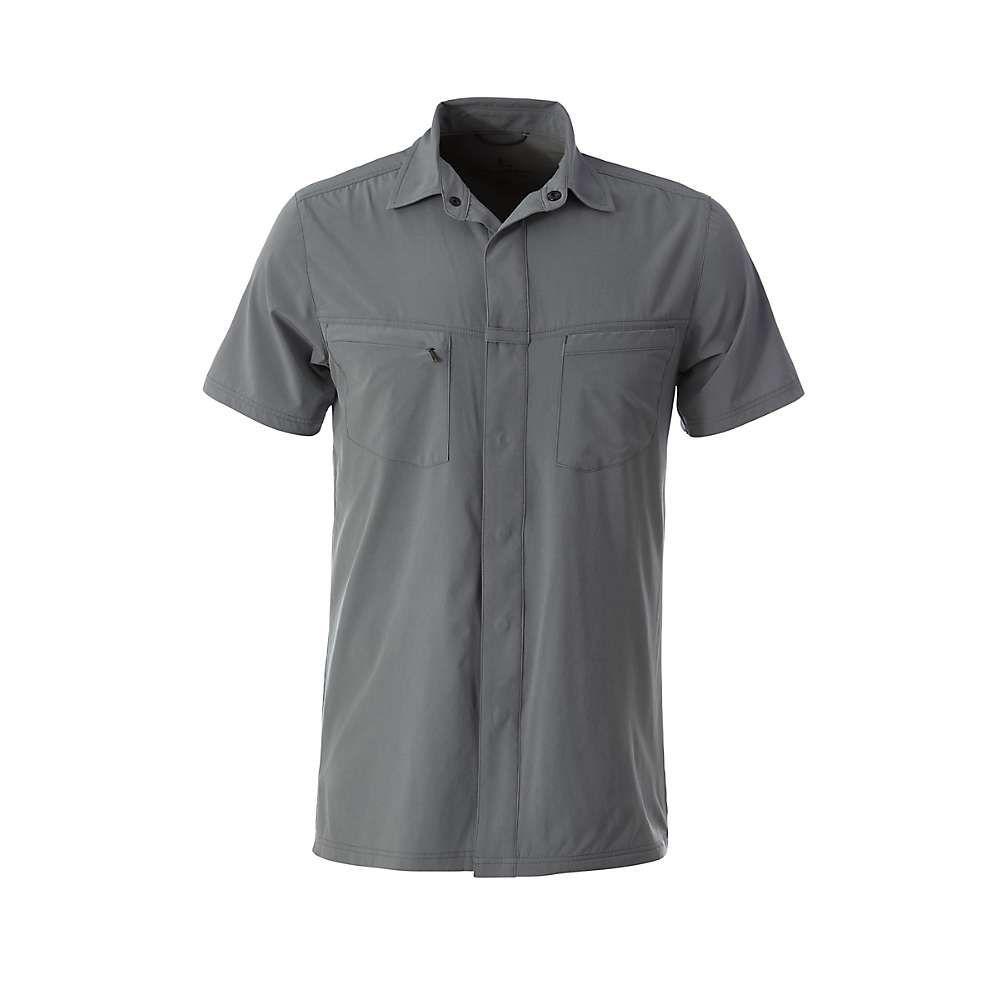 ロイヤルロビンズ Royal Robbins メンズ ハイキング・登山 トップス【City Traveler SS Shirt】Lt Pewter