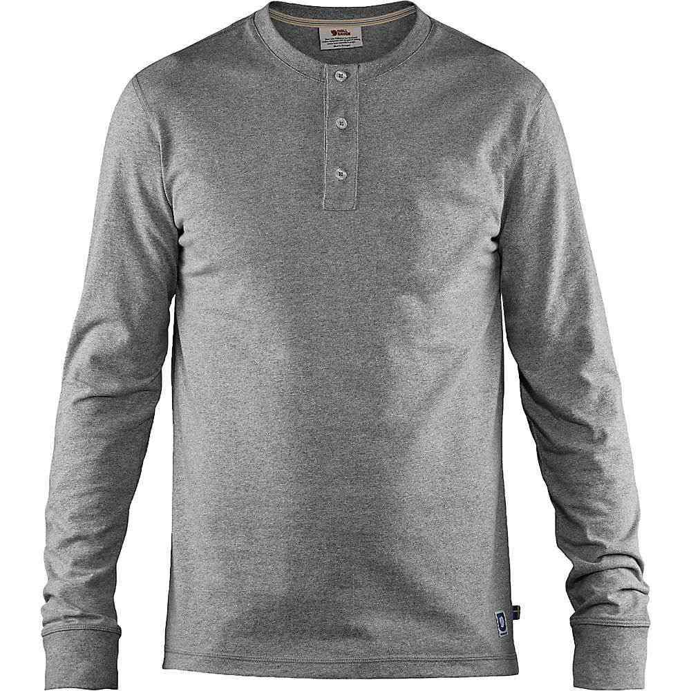 フェールラーベン Fjallraven メンズ ハイキング・登山 トップス【Greenland Re-Cotton Buttoned LS Shirt】Grey